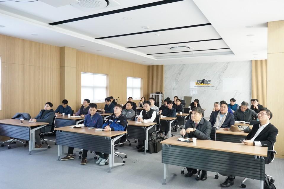 초고압전력기기 예방진단시스템 교육 현장