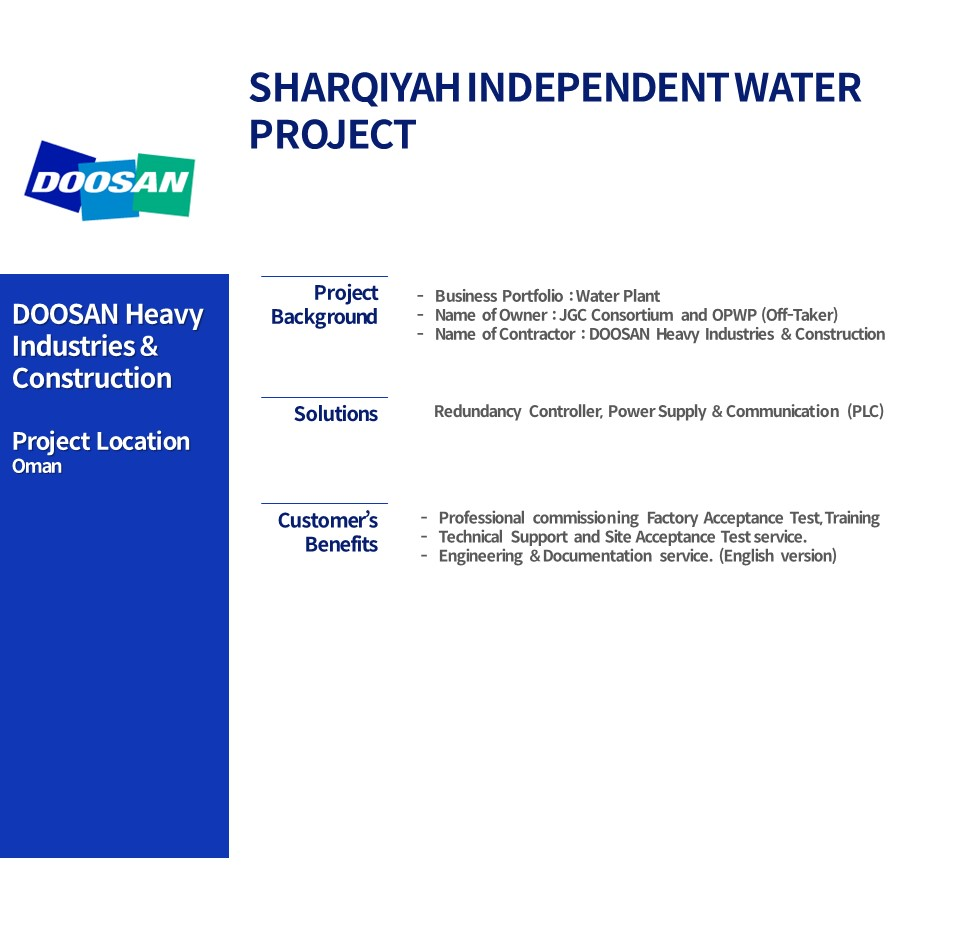 SHARQIYAH INDEPENDENT WATER PROJECT