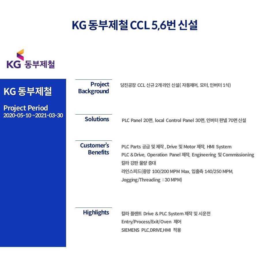 KG 동부제철 CCL 5,6번 신설_국문