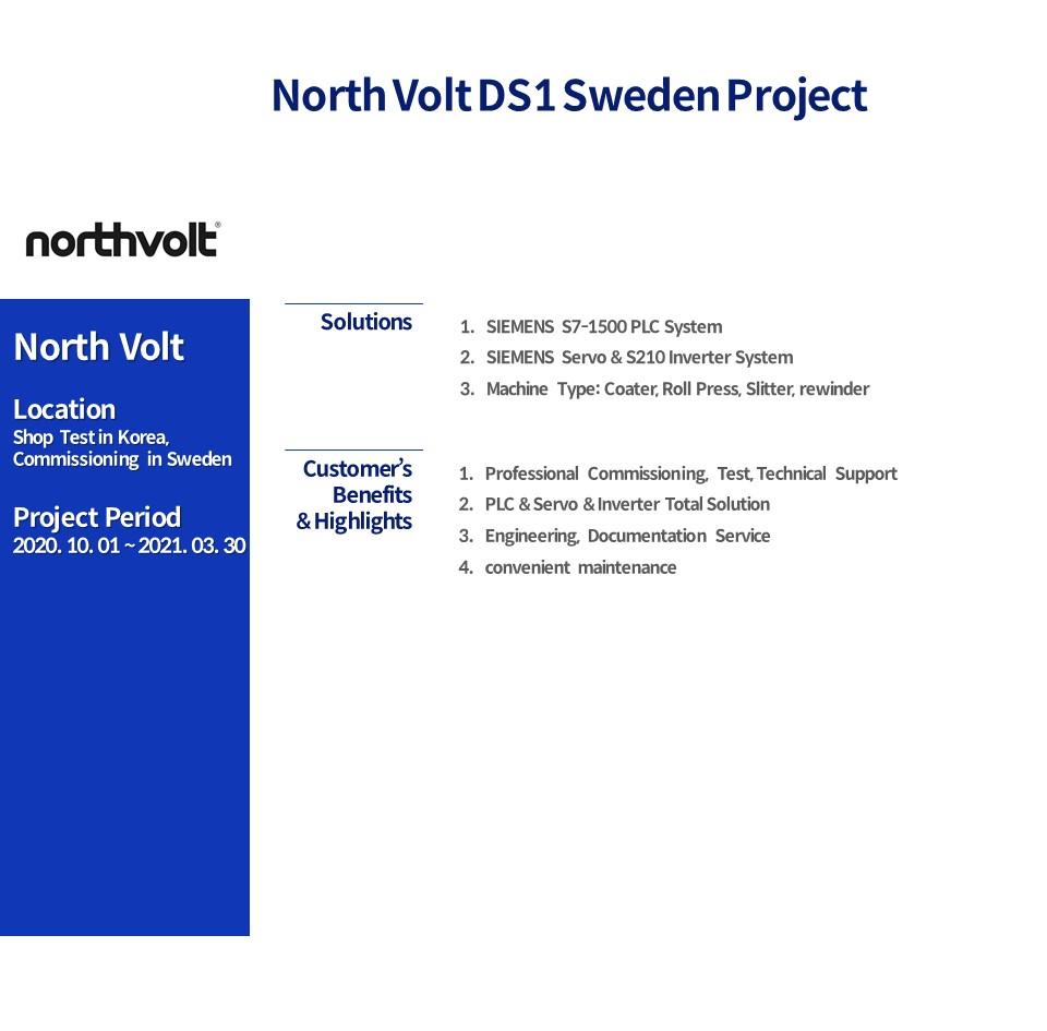 North Volt DS1 Sweden Project